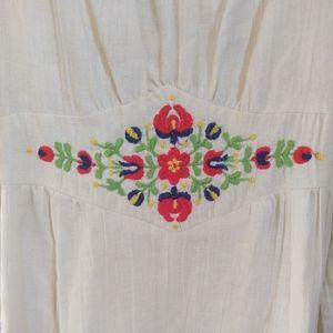 Long Vintage Summer Dress